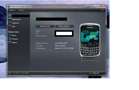Blackberry Sebagai Modem (3/3)